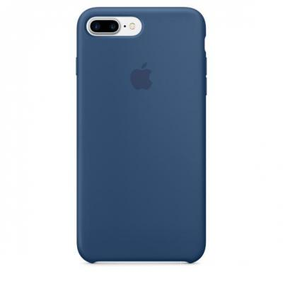 Apple mobile phone case: Siliconenhoesje voor iPhone 7 Plus - Oceaanblauw