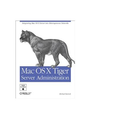 O'reilly boek: Media Mac OS X Tiger Server Administration - eBook (PDF)