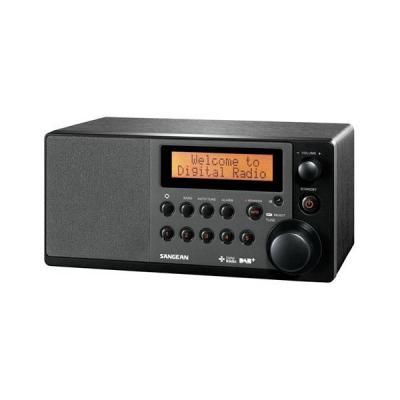 Sangean radio: DDR-31 - Zwart
