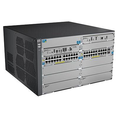 Hewlett Packard Enterprise 8206-44G-PoE+-2XG v2 zl with Premium Software Switch