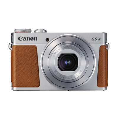 Canon digitale camera: PowerShot G9 X Mark II - Bruin, Zilver