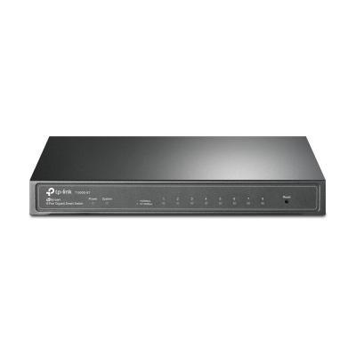 TP-LINK T1500G-8T Switch - Zwart