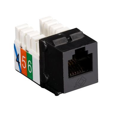 Black Box USOC, RJ-11, Black, 1 pcs - Zwart