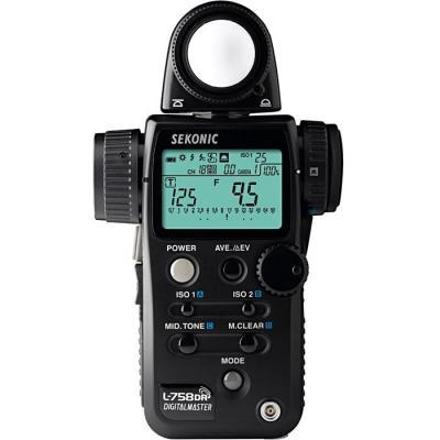 Sekonic lichtmeter: L-758DR