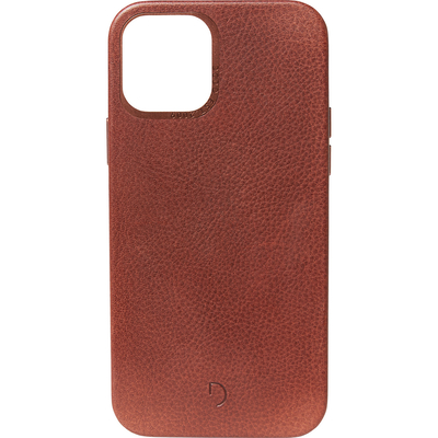 Decoded Leather Backcover MagSafe iPhone 12 Mini - Bruin - Bruin / Brown Mobile phone case