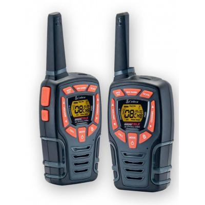 Insmat walkie-talkie: AM-845 PMR - Zwart, Oranje