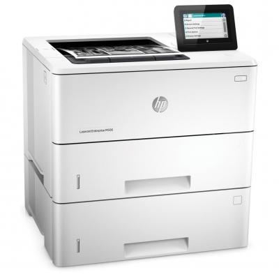 Hp laserprinter: LaserJet Enterprise M506dn - Zwart