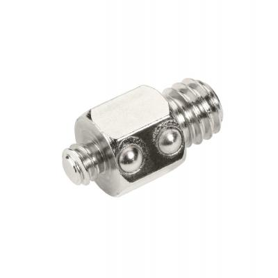 Cullmann statief accessoire: Exchange Stud Tripod Accessory for Magnesit Plate - Roestvrijstaal