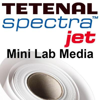 Tetenal fotopapier: SpectraJet Inkjet Mini Lab, 250gsm, 20.3cmx100m