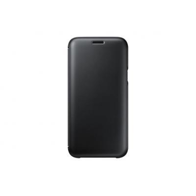Samsung mobile phone case: Wallet Cover Galaxy J5 (2017) schwarz - Zwart