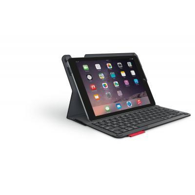 Logitech mobile device keyboard: Type+ - Zwart, QWERTZ