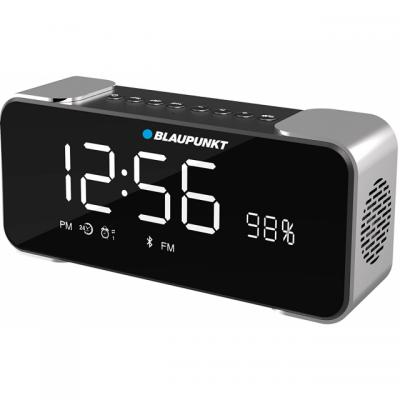 Blaupunkt Content authoring and editing software Cloud based: BLP2000 Alarm Clock Bluetooth Speaker Black/Silver