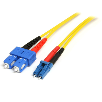 StarTech.com 4m LC/SC m/m SM Fiber optic kabel