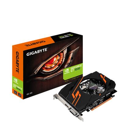 Gigabyte GV-N1030OC-2GI Videokaart - Zwart, Oranje