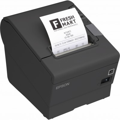 Epson TM-T88V Pos bonprinter - Zwart