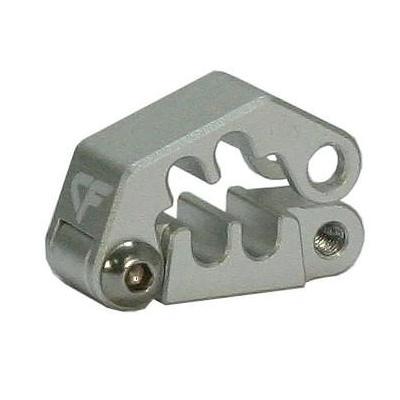 Nanoxia CF Cableclip CC-4, Aluminium Kabelklem - Zilver