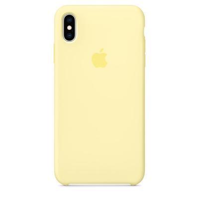 Apple Siliconenhoesje voor iPhone XS Max - Zachtgeel mobile phone case