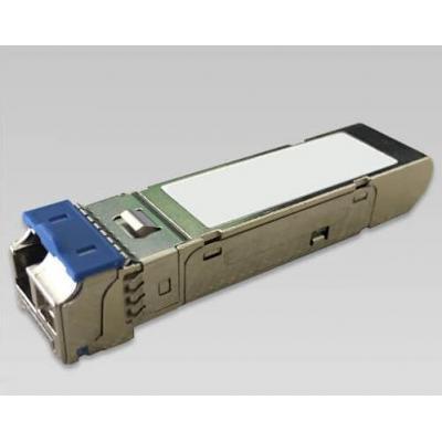 Planet mini-GBIC, 1000BASE-BX, Single Mode, LC, 1490nm/1550nm, max 80 km Netwerk tranceiver module - Nikkel