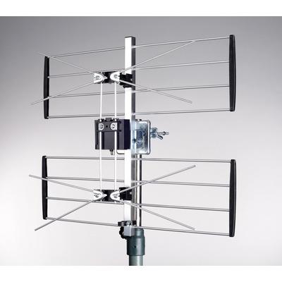 Maximum UHF2 Antenne - Zwart, zilver