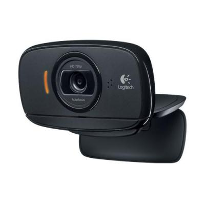 Logitech webcam: B525 HD - Zwart