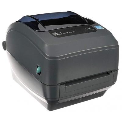 Zebra GX430t TT - USB Labelprinter - Zwart, Grijs