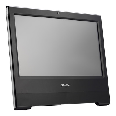 """Shuttle XPC X5060PA Fanless All-in-One POS PC 15.6"""" Touchscreen / IoT All-in-one pc - Zwart"""