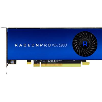 HP AMD Radeon Pro WX 3200 4GB (4)mDP GFX Videokaart