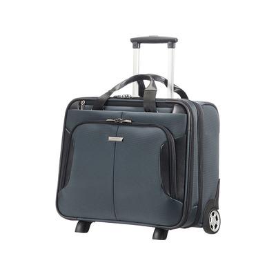 Samsonite laptoptas: XBR - Zwart, Grijs