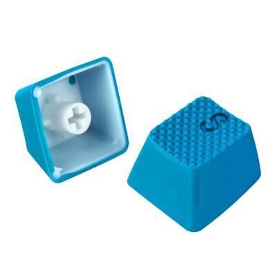 Sharkoon woodworking supply: Mechanical Rubber Keyset, 18 pcs, Light Blue