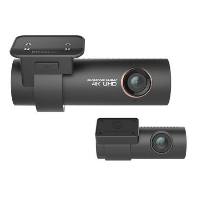 Blackvue DR900S-2CH 32GB Premium 4K UHD Cloud Dashcam + 32GB Stekker & connector