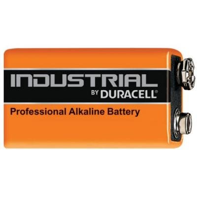 Duracell batterij: Industrial - Zwart, Oranje