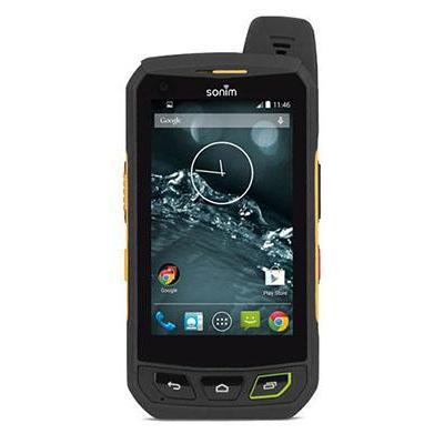 Sonim smartphone: XP7 - Zwart, Geel