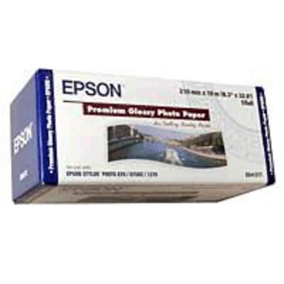 Epson Premium, 210mm x 10m, 255g/m² Fotopapier - Wit