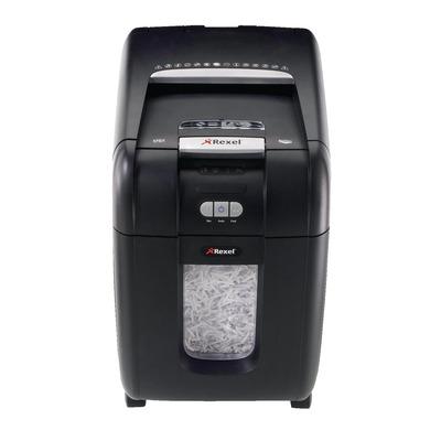 Rexel Auto+ 200X Papierversnipperaar - Zwart