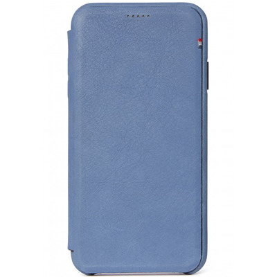 Leather Slim Wallet iPhone Xs Max - Blauw - Blauw / Blue Mobile phone case