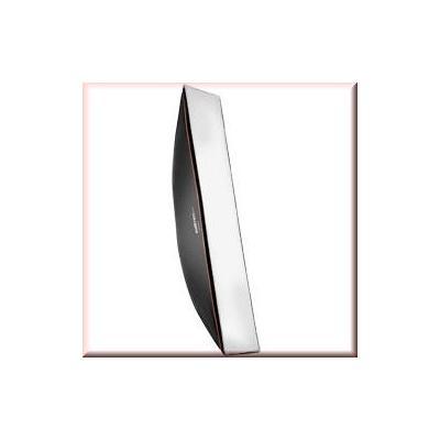 Walimex softbox: pro Softbox OL 25x180cm Visatec - Zwart, Wit