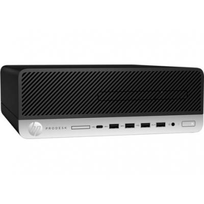 HP ProDesk 600 G4 pc - Zwart, Zilver