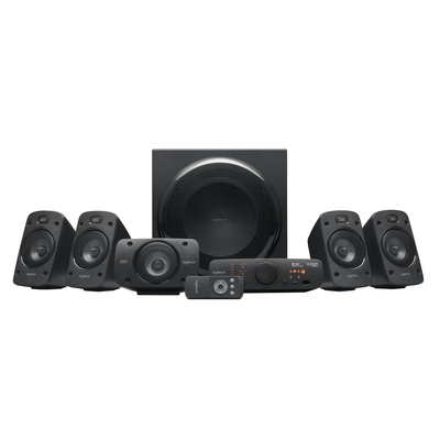 Logitech Speaker 5.1 System Z906 Luidspreker set - Zwart