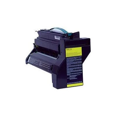 InfoPrint Cartridge for IBM Color 1754/1764, Return program, Yellow, 15000 Pages Toner - Geel