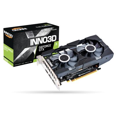 Inno3D N16502-04D6X-1177VA25 Videokaart - Zwart
