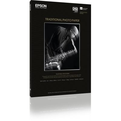 Epson fotopapier: Traditional Photo Paper, DIN A2, 330g/m², 25 Vel