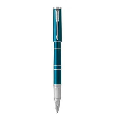 Parker fijnschrijver: 1972070 - Blauw, Chroom
