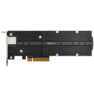 Synology PCIe 3.0 x8, PCIe NVMe, LAN, 10 Gbps, 200.05 x 71.75 x 17.7 mm Interfaceadapter - Zwart