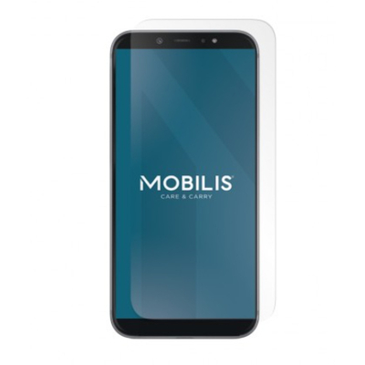 Mobilis tempered glass Clear finishing for Galaxy A12 Screen protector - Transparant