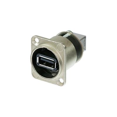 Neutrik NAUSB USB omvormer zilver Interfaceadapter - Zwart, Zilver