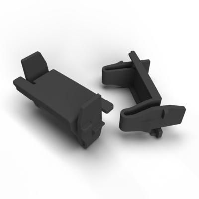 PATCHBOX ® Blind Panel 10-pack Rack toebehoren - Zwart