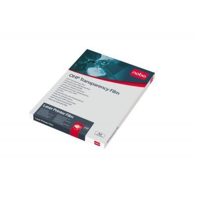Nobo transparante film: Overheadprojector Transparanten Laserprinter (50)