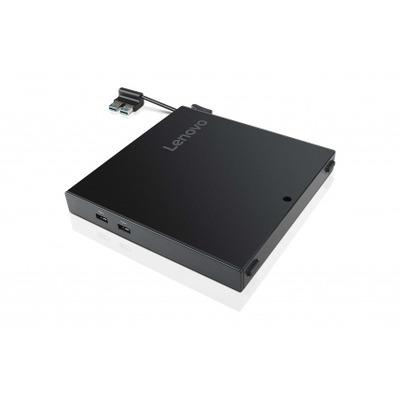 Lenovo ThinkCentre Tiny 4 IO Expansion Box Docking station - Zwart