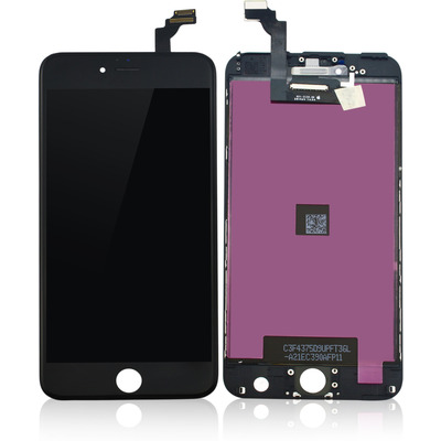 CoreParts MOBX-IPO6GP-LCD-B Mobile phone spare part - Zwart
