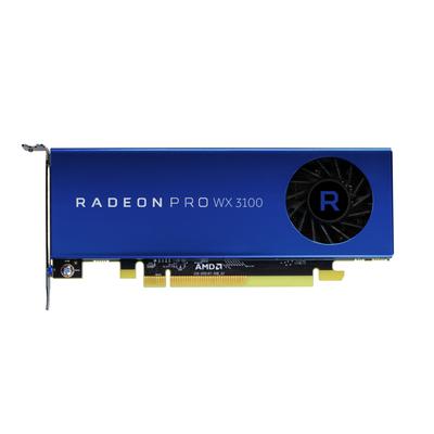 AMD Radeon Pro WX 3100 Videokaart - Blauw